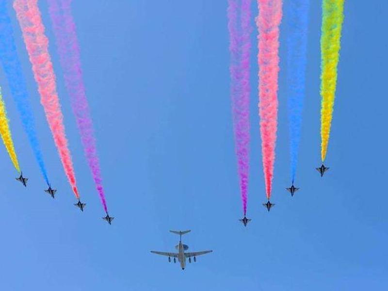 「广州狼王国防军旅」中国空军表示:我也想要过生日啊